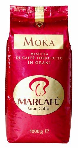 Marcafe Moka 1 kg Bohnen, 1er Pack (1 x 1 kg)