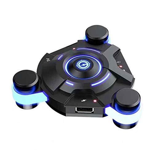 ZSooner Wireless Mobile Game Controller Tastiera e Mouse Convertitore Adattatore, Plug and Play per Smartphone IOS Android