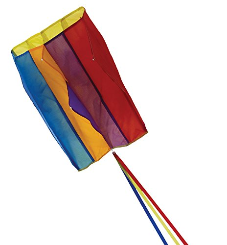 In the Breeze Pouch Parafoil Kite, Rainbow