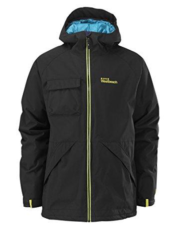 Westbeach Herren Jacke Ego Jacket Insulated, Black, XL, 1065