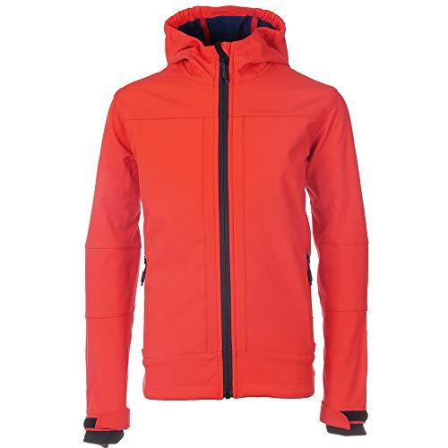 CMP Softshell Jacke Kinder Paolo Jungen | Soft Shell Jacket | Fleece-gefüttert | Wasserdicht mit Kapuze | 7000 mm Wassersäule