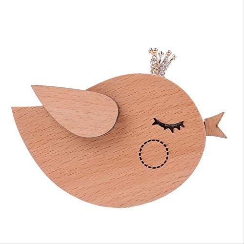 GYINK Caja De Música De Madera Modelo Creative Bird, Regalo De Cumpleaños Personalizado Personalizado De Black Friday