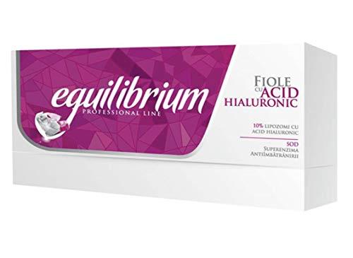 Ampollas con ácido hialurónico 10% Gerovital H3 Equilibrium