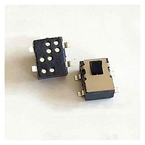 JSJJAUA Micro Interruptor 10pcs 4 Pin Mini Interruptor Deslizante restablecer un Interruptor Miniatura del Interruptor Miniatura Interruptor de detección de humidificador