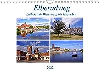Elberadweg von Lutherstadt Wittenberg bis Hitzacker (Wandkalender 2022 DIN A4 quer): Mit dem Fahrrad unterwegs auf dem Elberadweg (Monatskalender, 14 Seiten )