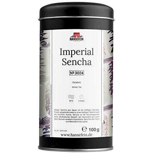 Hansefein Imperial Sencha Grüner Tee 100g in Aromadose