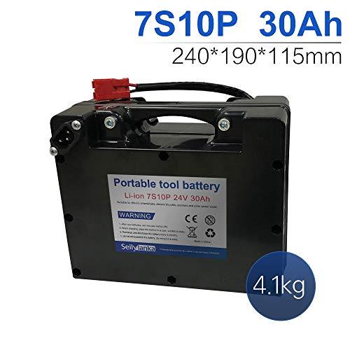 24V Li-ion batería dedicada a sillas de ruedas eléctricas Batería de plomo-ácido reemplazable 12Ah 15Ah 18Ah 24Ah 27Ah 30Ah 33Ah 36Ah 39Ah 42Ah 45Ah 48Ah 51Ah 54Ah 57Ah 60Ah (A-30Ah)