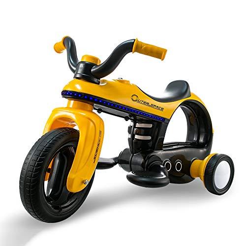 Lotees Kinder Rc Elektro-Auto-Kind-Motorrad-Fernbedienung Auto-Motorrad kann auf Elektro-Auto fährt auf Elektro-Auto-Batterie Autorennen Motorrad Boy Geschenke Kinder Spielzeug sitzt*