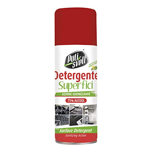 PULISVELT - Detergente en spray higienizante – 400 ml