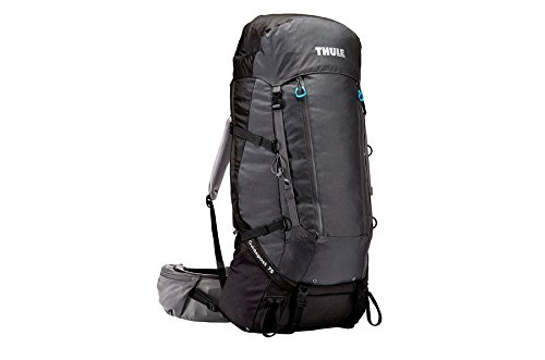 Thule Guidepost Sac de Trekking Homme, Black/Dark Shadow, 75 L