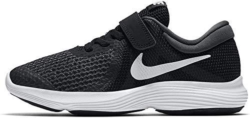 Nike Revolution 4 (PSV) Laufschuhe, Schwarz (Black/White-Anthracite 006), Numeric_35 EU