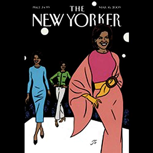 The New Yorker, March 16th, 2009 (D. T. Max, Joan Acocella, James Surowiecki) audiobook cover art