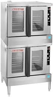 Blodgett ZEPH-200-G-ES DBL Zephaire Gas Convection Oven, Double-Deck