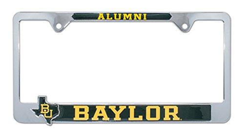 Baylor University License Plate Frame Variation (3D Alum)