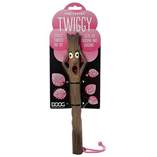 DOOG Hundespielzeug Stock Verschiedene Motive, Motiv:Mrs. Stick Twiggy