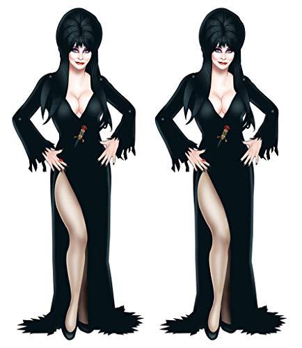 Beistle Jointed Elvira, 2 Piece, 35.75', Multicolored