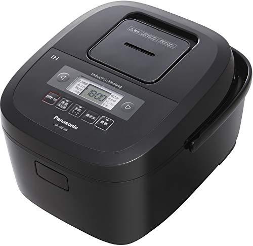 パナソニック 炊飯器 5.5合 IH式 備長炭釜 ブラック SR-CFE109-K
