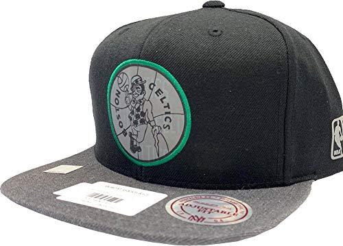 Mitchell & Ness Boston Celtics reflekterande Duo INTL305 keps med knäppning NBA HWC Kappe baslåda svart