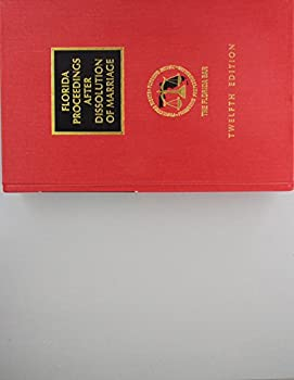 Hardcover Florida Proceedings After Dissolution of Marriage Book