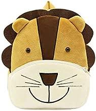 Cute Toddler Backpack Toddler Bag Plush Animal Cartoon Mini Travel Bag for Baby Girl Boy 1-6 Years (Lion)