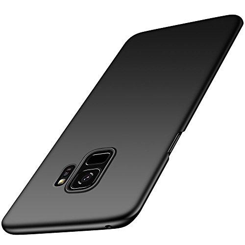 GeekerChip Custodia Galaxy S9,PC Ultra Sottile Custodia Cover,Si Sente,Anti-Impronta,Anti Scivolo Protezione Posteriore Case per Galaxy S9 (5.8')-Nero