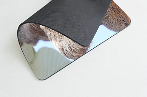 Smooffly Happy Sloth Mouse Pad,Funny Sloth in Costa Rica's Manuel Antonio Park Customized Rectangle Non-Slip Rubber Mousepad Photo #3
