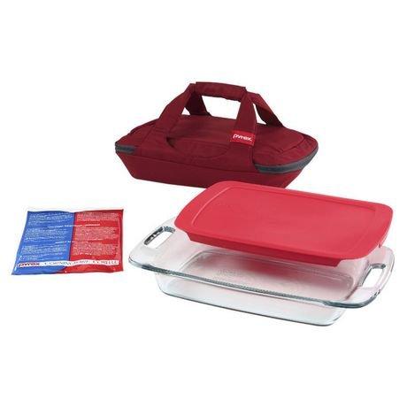Pyrex 4pc Portables Easy Grab Baking Dish Set