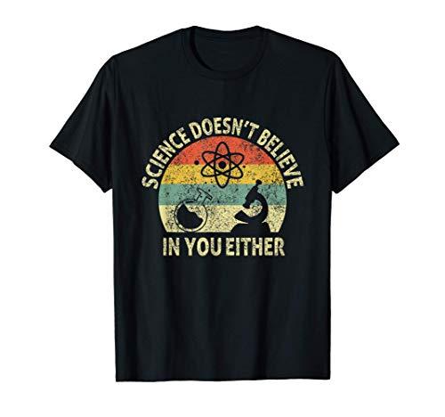 Club Microscope Nerd Geek School Chemist Teacher scientific T-Shirt
