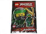 LEGO Ninjago Lloyd # 4 Lot de mini figurines en aluminium avec sachet