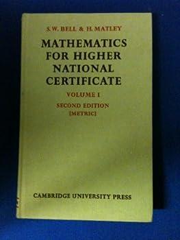 Maths Higher National Certicte 1 0521041449 Book Cover