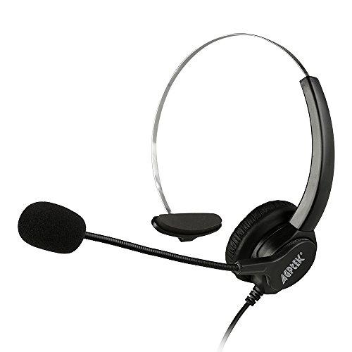 『AGPtek USBヘッドセット ハンズフリー片耳式USBエントリータイプ PCオーバーヘッドフォン ブラック』の1枚目の画像