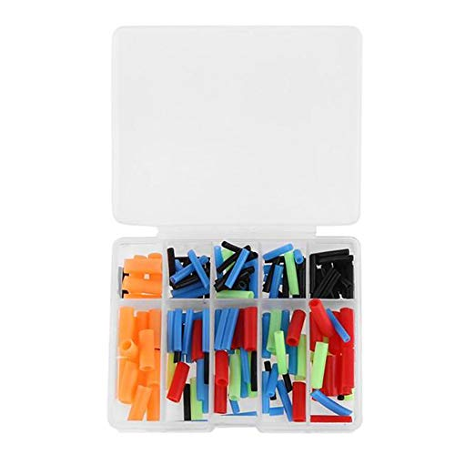 kaaka Plastic Fishing Hook Tip Cover Hook Protector Sleeves Lure Protection Fishing Terminal Tackle Safety Tool 2#