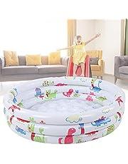 Baby Pool, Dinosaur Pattern Children Round Pool 100L Water Storage for Baby for Kids