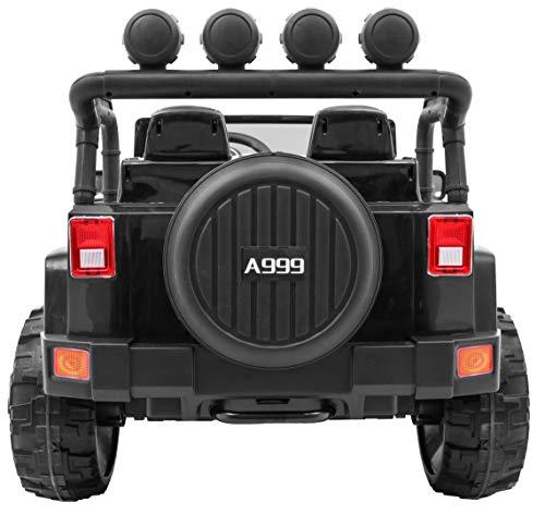 RC Auto kaufen Kinderauto Bild 6: BSD Kinderauto Elektroauto Kinderfahrzeug Spielzeug Elektrofahrzeuge - Master 4x4 2-Sitzer - Schwarz*