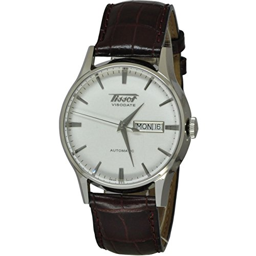 Tissot Men's TIST0194301603101 Heritage Visodate Stainless Steel Automatic Watch...