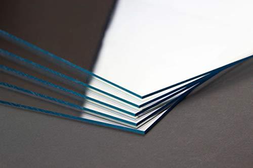 Acrylglas Kunststoff Verglasung Ersatzglas 28x35,6 cm Antireflex Scheibe entspiegelt matt nur für Bilderrahmen geeignet 35,6x28 cm