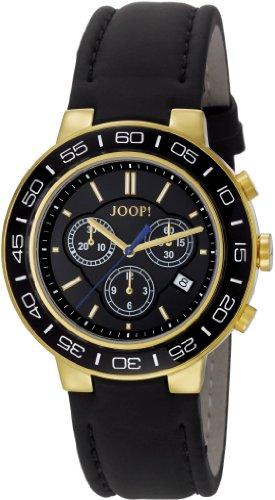 Joop Herren-Armbanduhr XL Insight Chronograph Quarz Leder JP100911F05