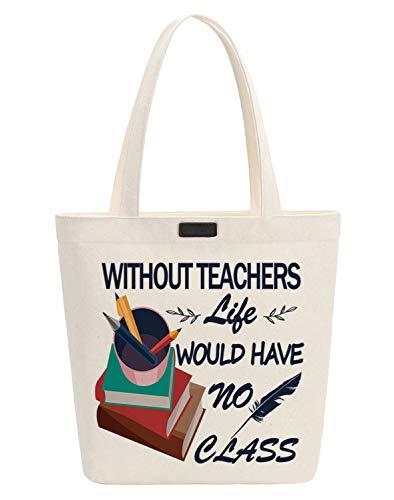 Chu donne miglior insegnante tela Tote shopper shopping bag S