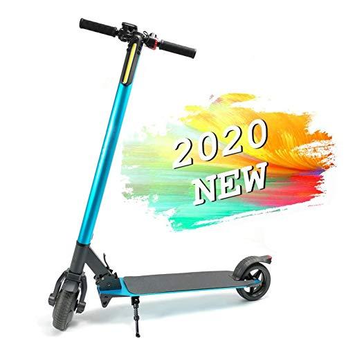 SOAR Patinete Eléctrico Scooter Eléctrico Plegable, 250W, 5,5 Pulgadas Neumáticos, Velocidad 15KM por Hora, Apto For Niños, Adolescentes Y Mujeres Adultas, 100 Kg Carga Máxima (Color : Blue)