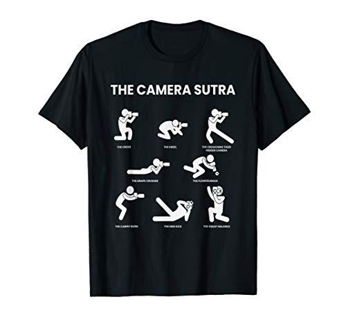The Camera Sutra I Fotograf Kamera Fotografie Objektiv Hobby T-Shirt