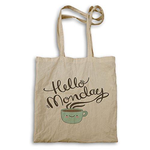 INNOGLEN Hallo Montag Kaffee Tragetasche p197r