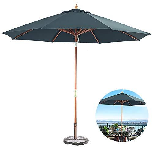 ZDYLM-Y Parasol de Jardin Exterieur avec 8 Nervures Robustes, Parapluie à baldaquin Double en Aluminium pour Jardin, arrière-Cour et Piscine