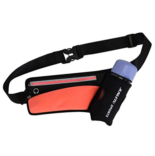 Riding Sports Waist Fitness Multifuncional Hervidor Cinturón Bolsa Cinturón Ajustado para teléfono móvil Bolsa de cinturón al Aire Libre, 5