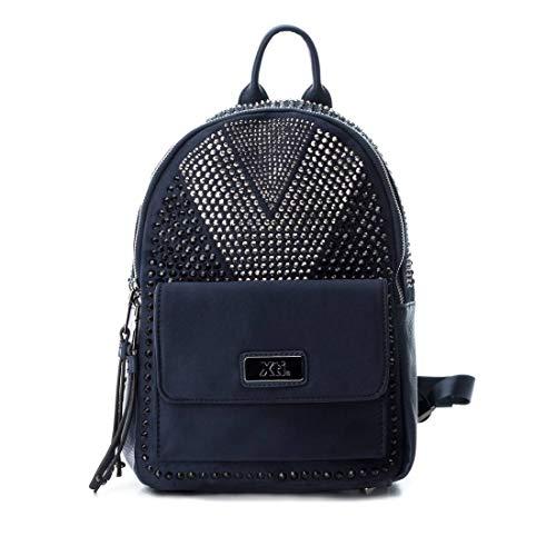 XTI 86144, Bolso mochila para Mujer, Azul (Navy), 26x33x12 cm (W x H x L)