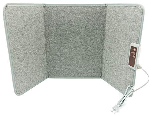 Infrarot Schreibtischheizung 51x100cm Heizpaneel Standheizung für Büro Schreibtisch Arbeitsplatz