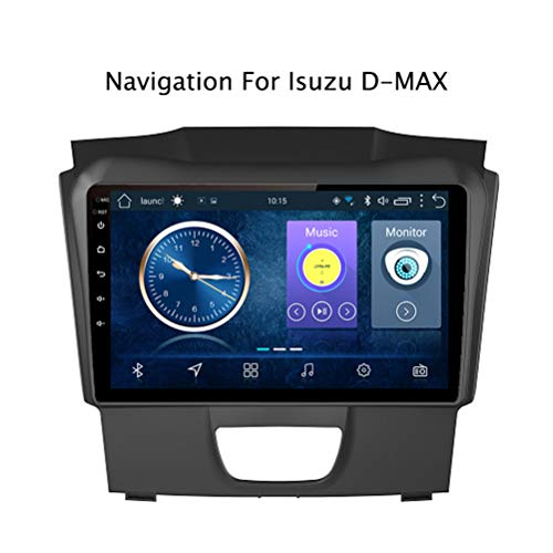 Android 8.1 Auto Stereo Radio Video Player 9 Zoll HD 1024 * 600 Touchscreen Navigation für Auto, Unterstützung Bluetooth 4.0 WiFi FM Spiegel Link,für Isuzu D-MAX DMAX 2015-2018,4G WlFi:2+32G