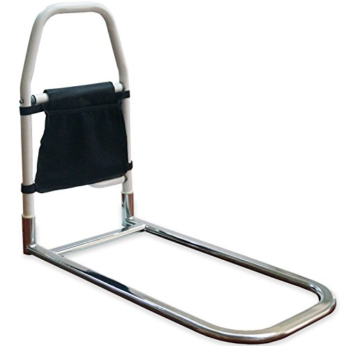 Medokare Bed Rails for Elderly - Hospital Grade Safety Bed Rail for Adults Seniors, Bed Side Handrail, Senior Adult Handrail for King Queen Twin Size Bed, Handicap Bed Assist Rail (Bed Rail 3)