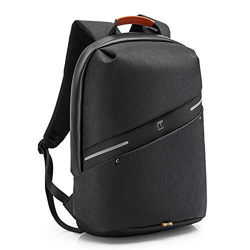 リュック メンズ 大容量 バックパック A4サイズ リュックサック USB充電ポート付き ビジネスリュック 防水 15.6インチノートパソコン入れ 軽量 盗難防止 多機能 通勤 通学 男女兼用 (ブラック)