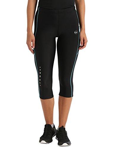 Ultrasport Panta jogging 3/4 per donna con effetto compressivo e funzione Quick Dry