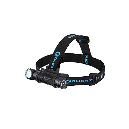 OLIGHT(オーライト) Perun2 LED ヘッドライト USB充電式 懐中電灯 2500ルーメン フラッシュライト 強 力 180°調整可能 IPX8防水 軽量 センサー機能 アウトドア 登山 作業用 夜釣り